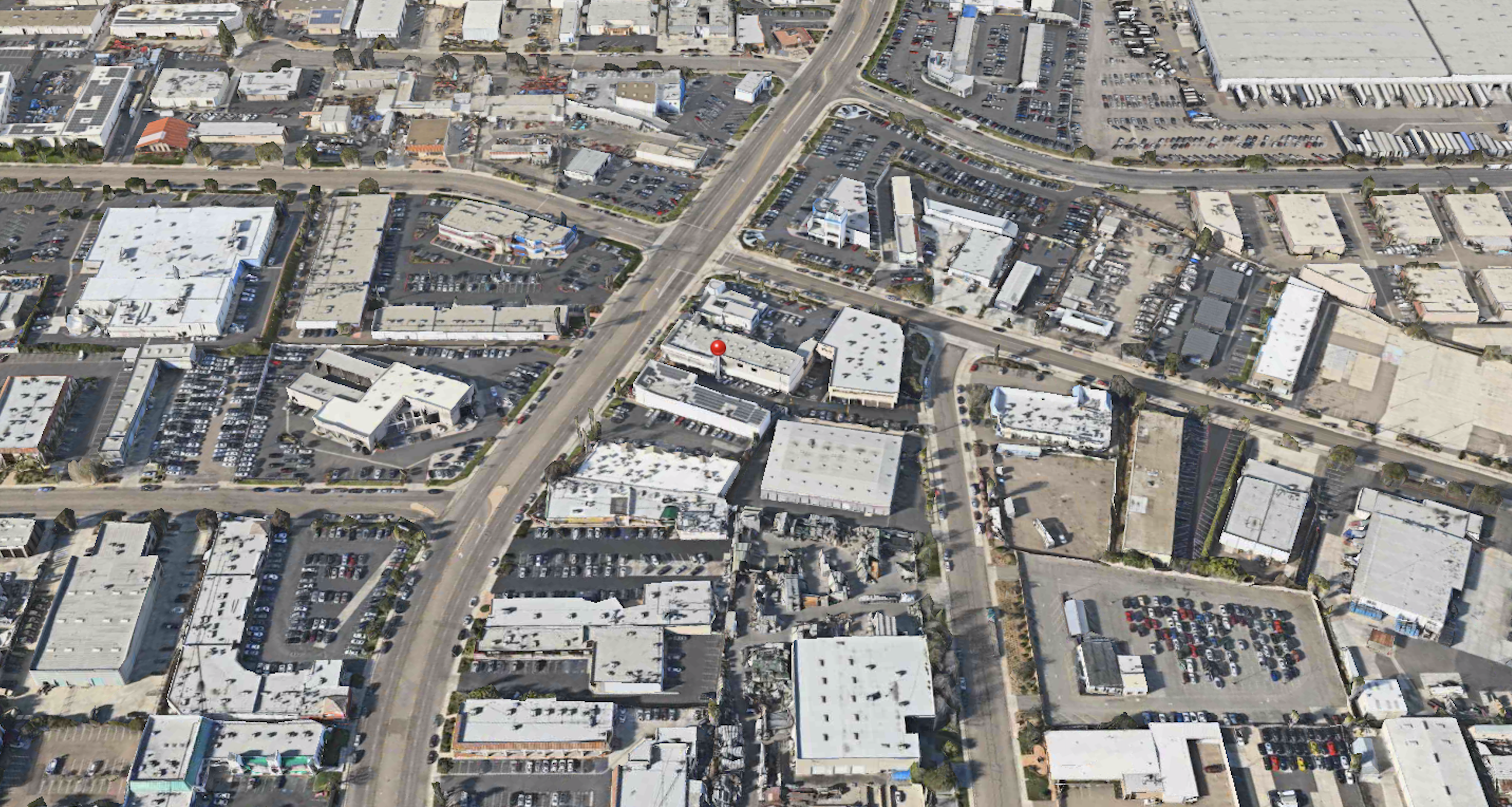 A San Diego Business Corridor Lacking PV, Except For GreenSource Project